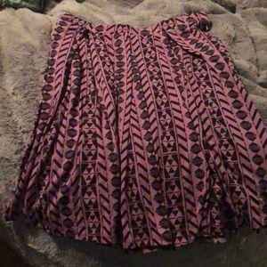 2X LuLaRoe Madison Skirt
